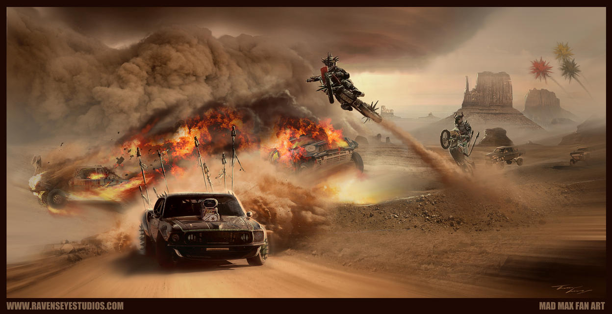 MAD MAX - Fan Art by RavenseyeTravisLacey