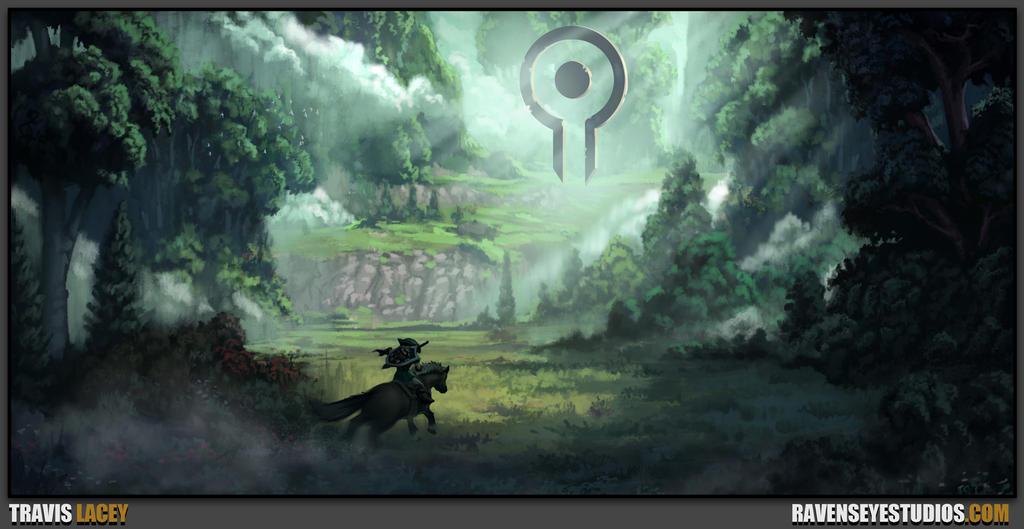 Link riding epona Sketch by RavenseyeTravisLacey