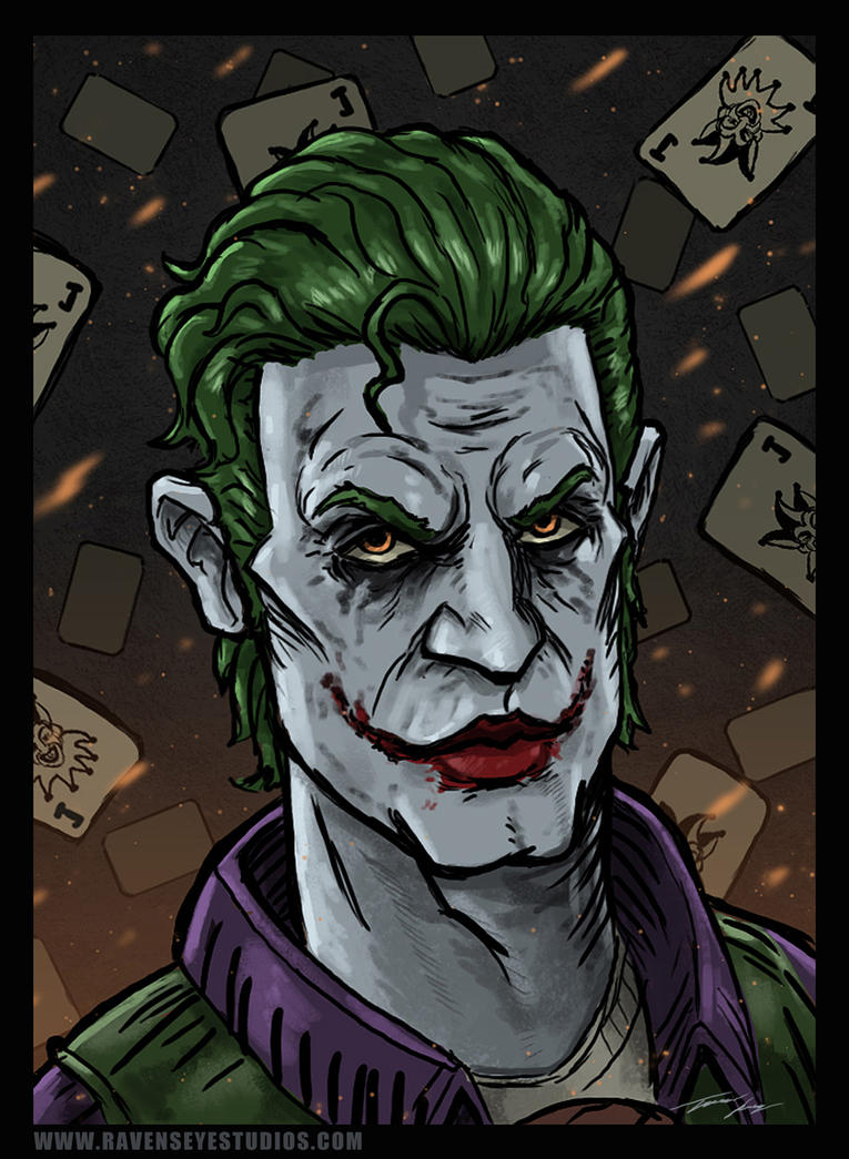Joker sketch by RavenseyeTravisLacey