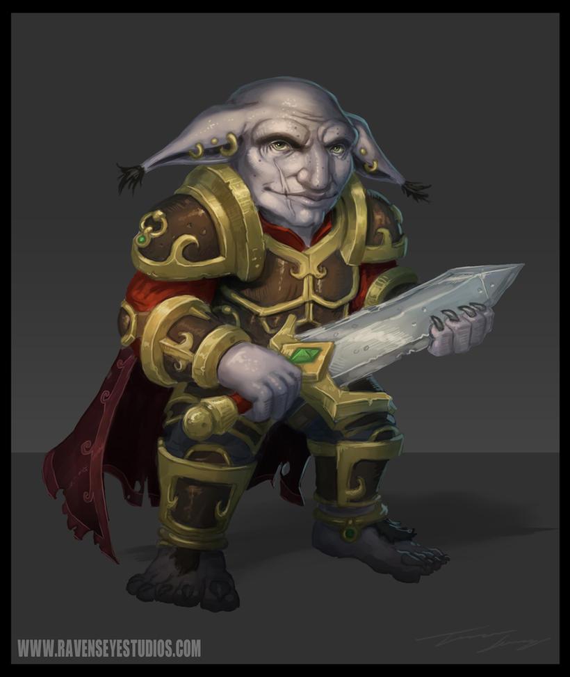 The pale goblin by RavenseyeTravisLacey