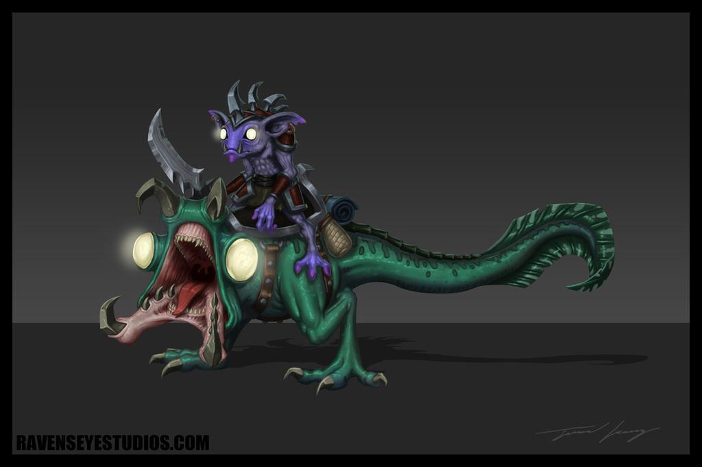 Swamp creature fantasy concept by RavenseyeTravisLacey