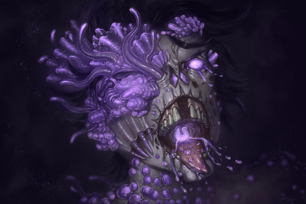 Zombie mutation by RavenseyeTravisLacey