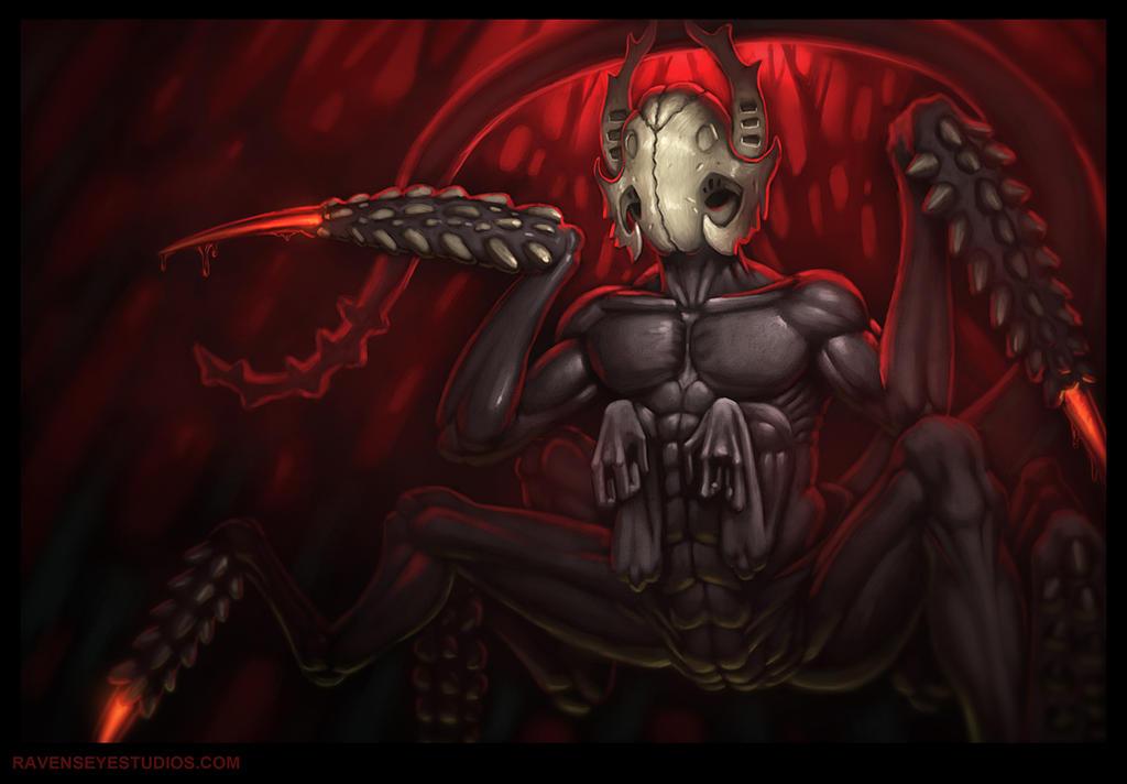 Faceless - creature - exploration by RavenseyeTravisLacey