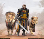 warrior among lions