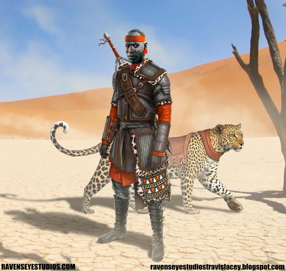 African fantasy tracker by RavenseyeTravisLacey
