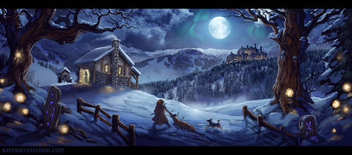 Winter harvest by RavenseyeTravisLacey