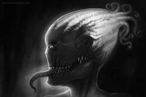 Something creepy before sleepy by RavenseyeTravisLacey