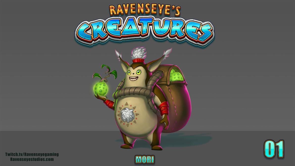 Ravenseyes Creatures 01 - Mori by RavenseyeTravisLacey