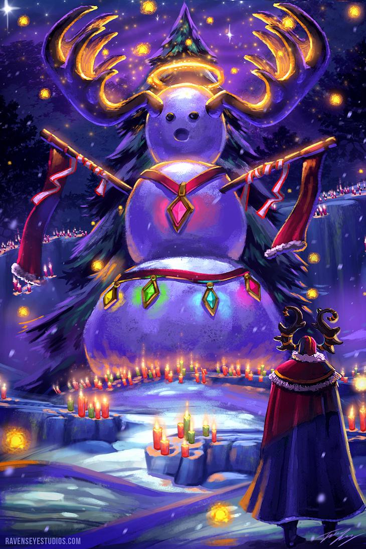 Christmas Eve by RavenseyeTravisLacey