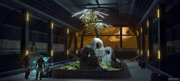 Sci fi environment by RavenseyeTravisLacey