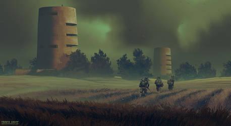 Maysketchaday 2019 - 23 - Bunkers by RavenseyeTravisLacey