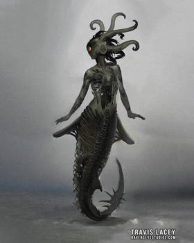 Eldritch horror mermaid