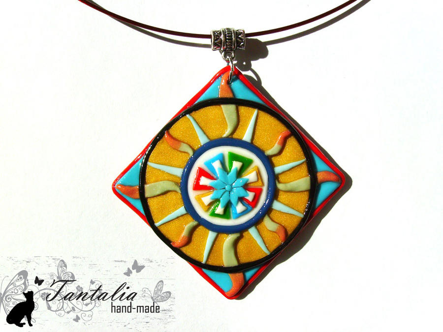 "Pendant ""The emblem of Feanor"" by Tantalia"