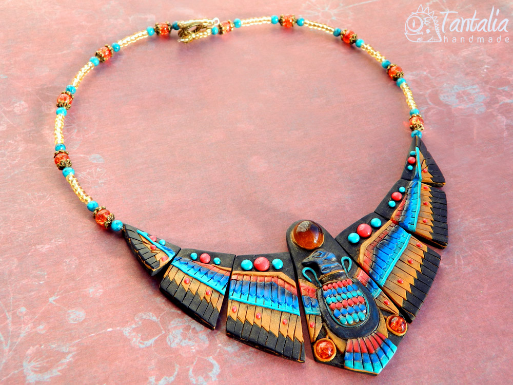 Necklace Nehbet by Tantalia