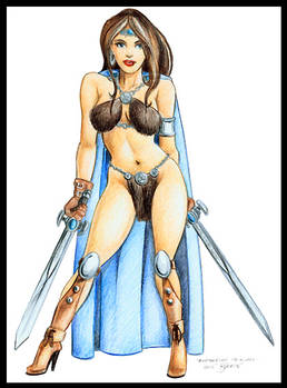 'Barbarian Princess'