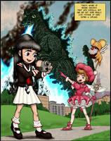 Sakura vs. Godzilla