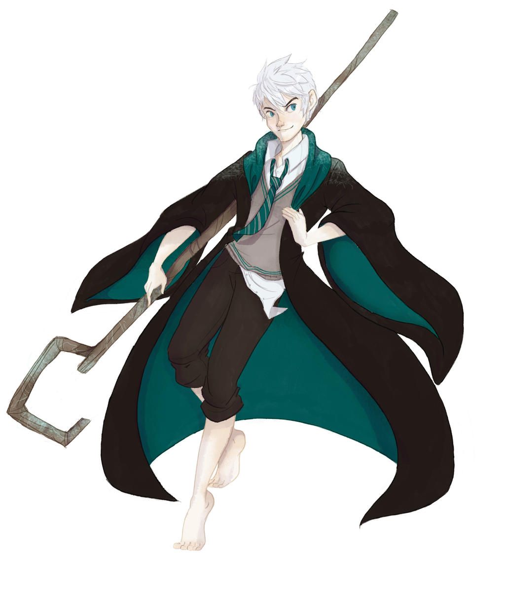 Jack frost Slytherin by Danicornio on DeviantArt