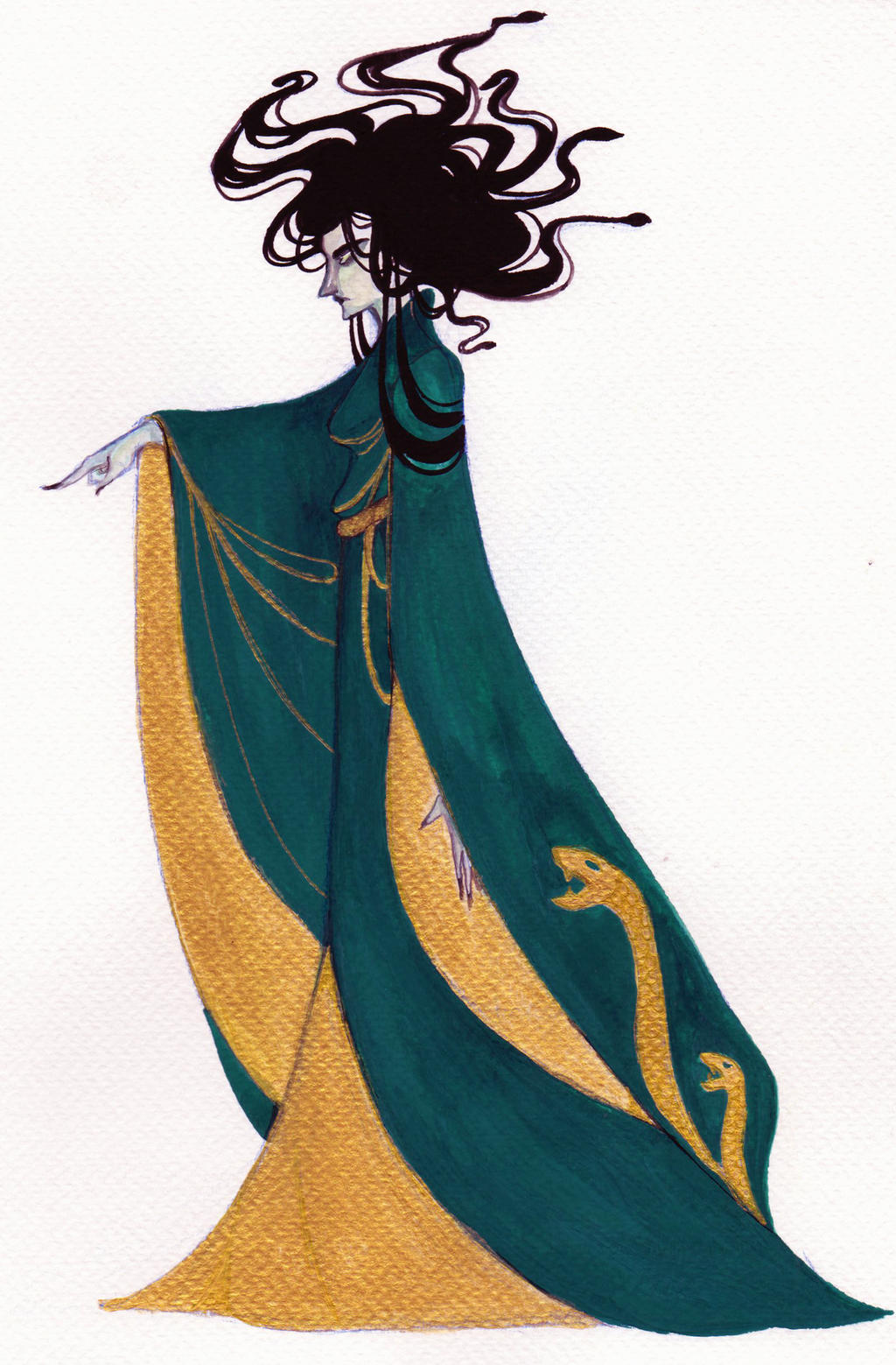 Medusa by Danicornio