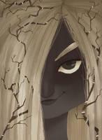 The forest witch by Danicornio