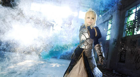 Fate/stay night- Saber by hydeaoi