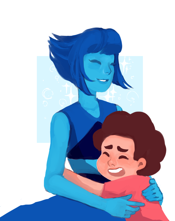 i watched the most recent episode and i was hit with an overwhelming need to see lapis happy ;A;