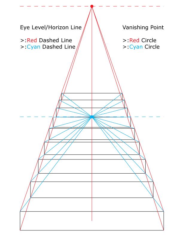 how to draw underground stair
