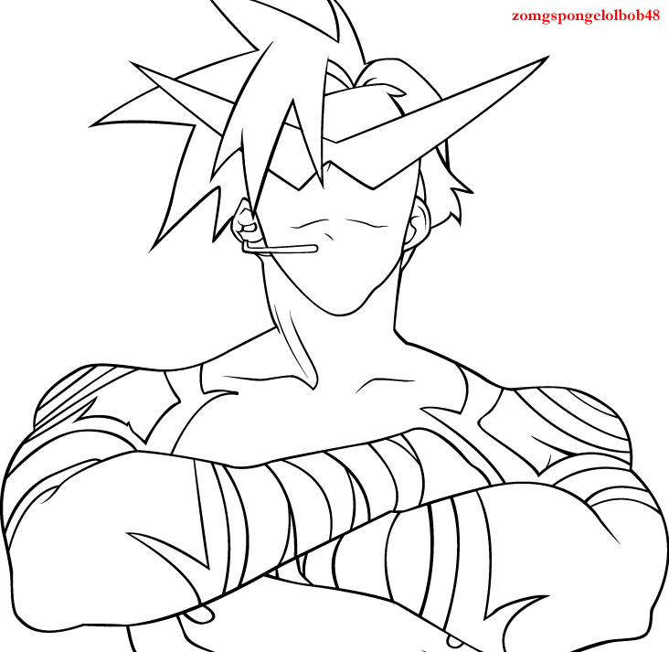 yoko coloring pages - photo#17