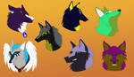 Headshot Requests: Batch 1 by LadyHeren