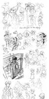 Sketchdump Sept '10 by nargyle