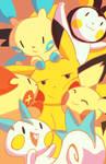 Pokemon: Electric Rat Family