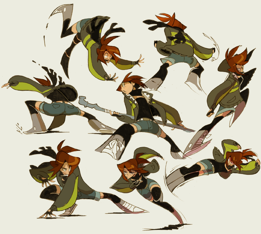 Animation Character Design Artist : Cf show me your moves by nargyle on deviantart