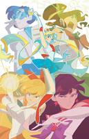 Sailor Moon: Bishoujo Senshis by nargyle