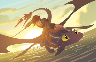 How To Train Your Dragon by nargyle