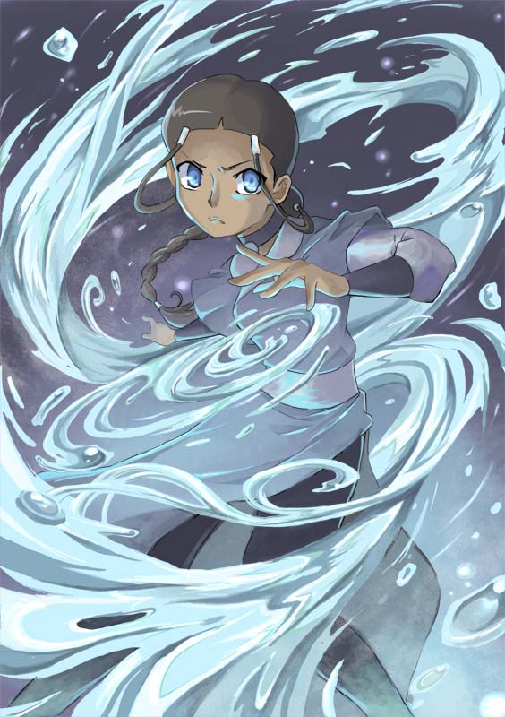 Waterbender Katara by nargyle