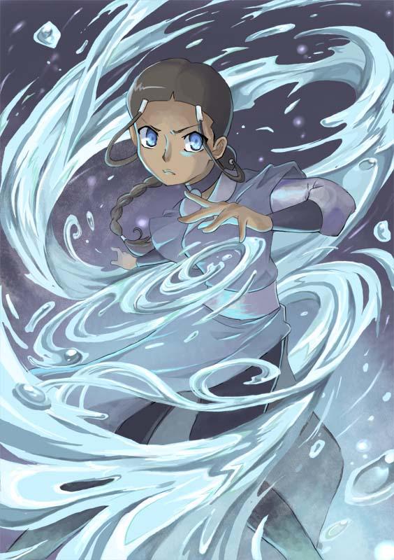 Waterbender Katara by nargyle