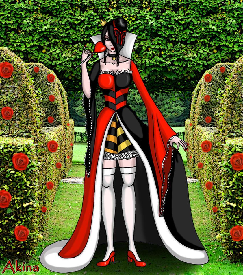la reine de coeur alice au pays des merveilles by akina01 on deviantart. Black Bedroom Furniture Sets. Home Design Ideas
