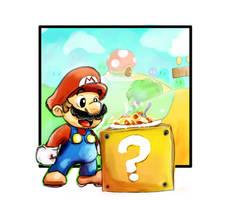 Mario by RefugioI