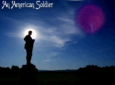 An American Soldier by Hopelessly-Dead