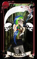 Miss Magix | Round 1 | Tarot Card - Death by DarkLadyYami