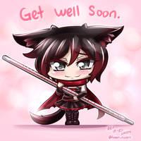 RWBY - Chibi Ruby~ Get Well Soon
