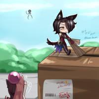 Chibi Cinder ~Arrival - Part 2 by HOSEN-HOSEN-HOCEN