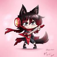 RWBY - Chibi Ruby~ Rock