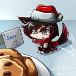 RWBY - Chibi Ruby~ Stay~~