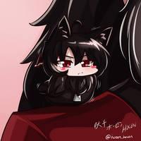RWBY - Chibi Raven~ Tweet 2~~ by HOSEN-HOSEN-HOCEN