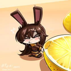 RWBY - Chibi Velvet~ Lemon by HOSEN-HOSEN-HOCEN