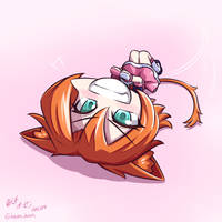 RWBY - Chibi Nora~ So~ How'bout those waffles~~