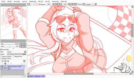 Up Next~ [RWBY - Yang Race Queen!]