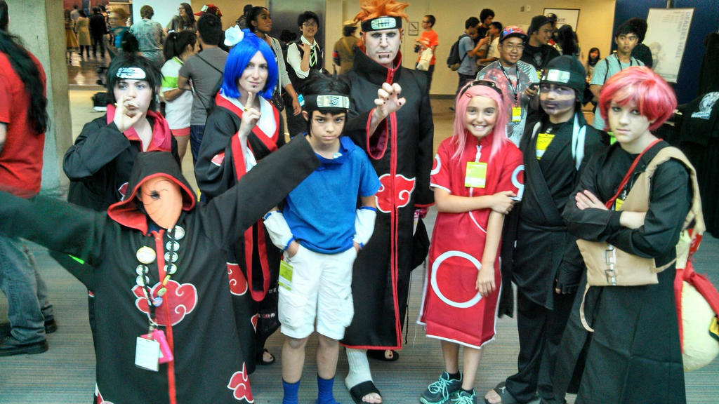 Akatsuki and sasuke sakura gaara and kankuro by ...