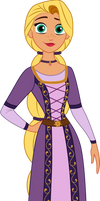 Tangled Series Challenge: Princess Rapunzel