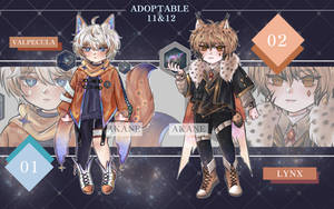 [Auction-OPEN] ADOPTABLE 11-12 by Akanezz2314